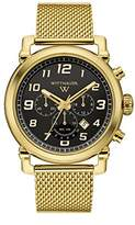 Wittnauer Men's Quartz Stainless Steel Casual Watch, Color:Gold-Toned (Model: WN3071)