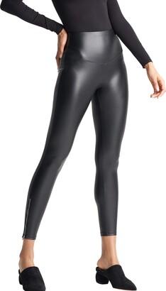 Yummie Women's Faux Leather Shaping Legging