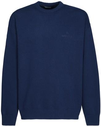 Balenciaga Logo Wool & Cashmere Sweater