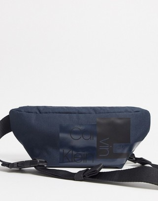 Calvin Klein Jeans nylon utility reporter bag