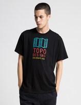 Topo Designs Black Original Logo T-Shirt