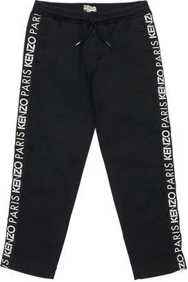 Kenzo Kids Logo Cotton Blend Sweatpants