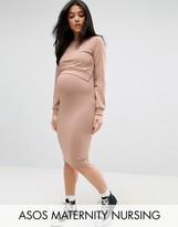ASOS Maternity - Nursing ASOS Maternity NURSING Double Layer Sweat Dress