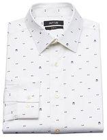 Apt. 9 Men's Bow Tie Slim-Fit Stretch Spread-Collar Dress Shirt