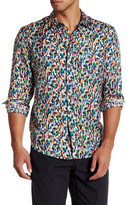 Robert Graham Collared Mulitcolor Classic Fit Print Shirt