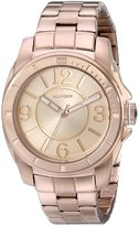 Tommy Hilfiger Women's Sport Rose Plated Stainless Steel Bracelet Watch 1781141