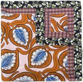 Marni foliage print scarf