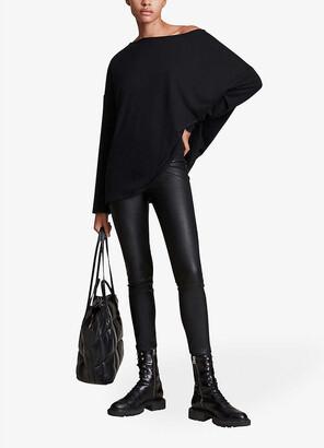 AllSaints Rita long sleeved jersey top