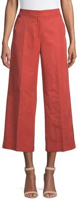 Max Mara Cropped Wide-Leg Pants
