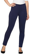 As Is Lisa Rinna Collection Ponte Knit Ankle Pants