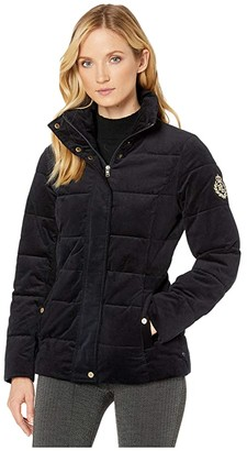 Lauren Ralph Lauren Corduroy Jacket (Navy) Women's Clothing