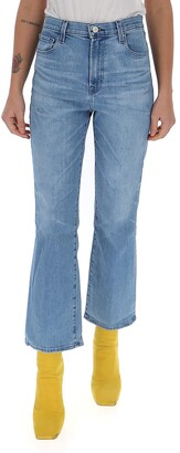 J Brand Franky High-Rise Cropped Jeans