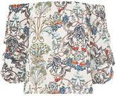 TFNC **Mila Floral Print Bardot Top