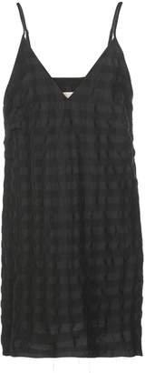 Marques Almeida Check-Print Slip Dress