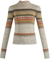 Etoile Isabel Marant Blake Fair-Isle knit sweater