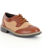 Kenneth Cole Reaction Take Fair 2 Boys Wing-Tip Dress Shoes