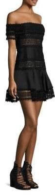 Thurley Salvadore Off-The-Shoulder Mini Dress