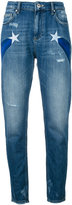 Zoe Karssen star detail jeans - women - Cotton - 24