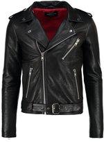 Mads Nørgaard Jake Leather Jacket Black