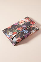 Anthropologie Romantic Florals Clutch