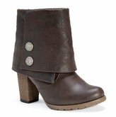 Muk Luks Women's Chris Button Detail Ankle Boots