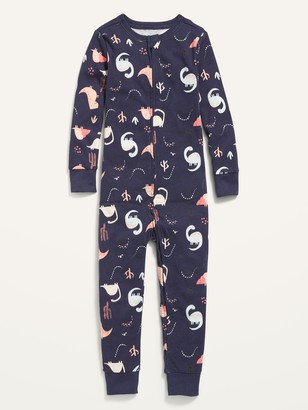 Old Navy Unisex Printed Pajama One-Piece for Toddler & Baby