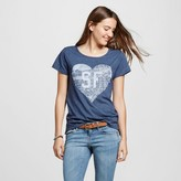 San Francisco Local Pride by Todd Snyder Women's SF Heart Map Tee - Navy