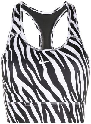Nike Zebra-Print Cropped Vest