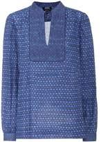 A.P.C. Ava cotton-blend blouse