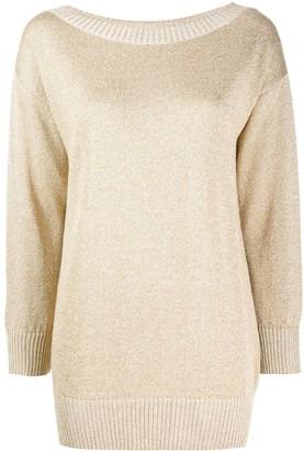 P.A.R.O.S.H. boat neck sweatshirt