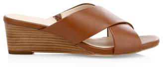 Cole Haan Adley Grand Leather Wedge Sandals