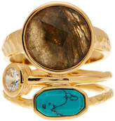 Melinda Maria Courtney Labradorite Ring - Size 8