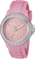 Ice Watch Ice-Watch Ice Women's STPSUS10 Stone Silicone Dial with Stone Accented Bezel Watch