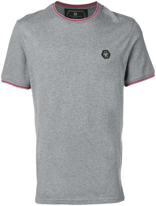 Philipp Plein Original striped trim T-shirt
