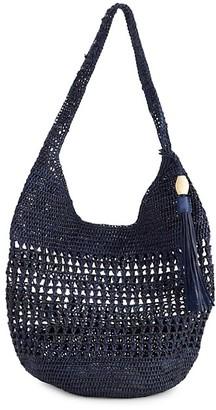 Mar y Sol Aspen Raffia Shoulder Bag