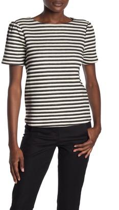 Philosophy di Lorenzo Serafini Puff Sleeve Jacquard T-Shirt