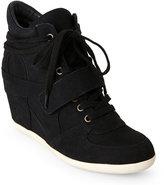 Ash Black Bowie Wedge Sneakers