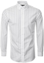 Vivienne Westwood Striped Krall Shirt White
