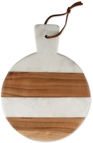 Thirstystone Marble & Wood Striped Round Paddleboard
