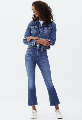 Singer22 Demy Cropped Flare Jean