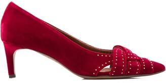 L'Autre Chose Studded 60mm Pointed Pumps
