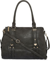 LOUIS CARDY Louis Cardy Metal Tab Detailed Double Handle Satchel