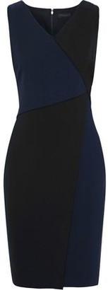 Donna Karan Two-tone Cady Dress