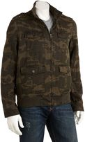 Levi's camo denim bomber jacket - men