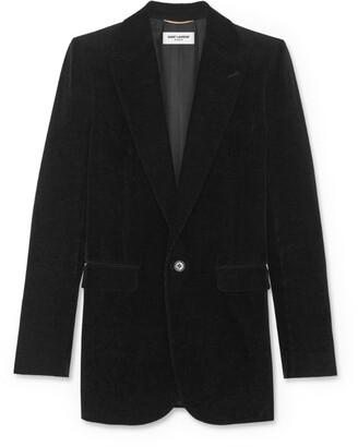 Saint Laurent Velvet Tailored Jacket