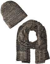 La Fiorentina Women's Knit Scarf and Hat 2 Piece Set