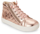 Old Soles Toddler Girls) Copper Eazy Quilt Mid Sneakers