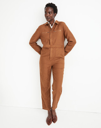 Madewell Zip-Pocket Coverall Jumpsuit