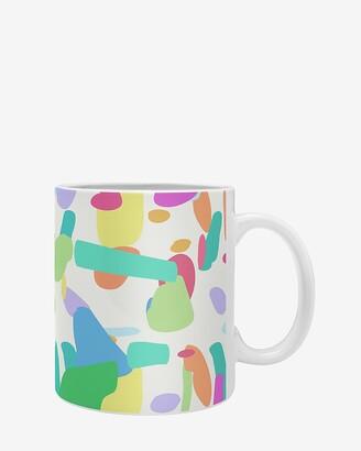 Express Deny Designs Terrazzo Party Coffee Mug
