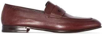 Ermenegildo Zegna Almond Toe Loafers